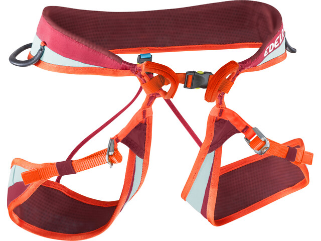 Edelrid Loopo II Adjust Harnas, vinered/lollipop